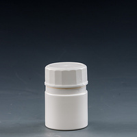 50ml tablet container with desiccant cap