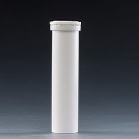 144mm plastic effervescent tablets tubes