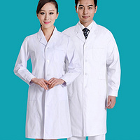 Doctor's  Uniform Medical Apparel Doctor costume White Coat