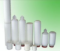 10inch -40 inch 0.22um Pp pleated filter cartridge for prefiltration