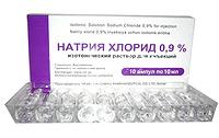 SODIUM CHLORIDE INJECTION 10ML90MG