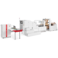 RZFD-450 AUTOMATIC HIGH SPEED SQUARE BOTTOM PAPER BAG MACHINE