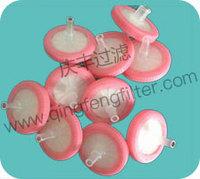 0.45um Hydrophobic syringe filter for medical usage