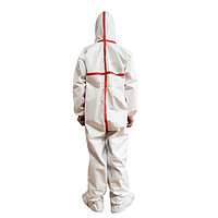 Disposable medical use protective clothing, Microporous Coverall and isolation gown
