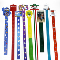 Supermarket pp display strip clip hanging strip for snacks