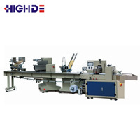 PLA cutlery packing machine spoon fork knife automatic wrapping machine
