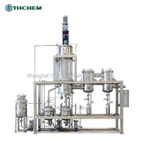 1 Stage Stainless Steel SUS316L Wiped Film Molecular Distillation Evaporator