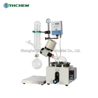 Rotary evaporator with hand lift