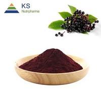 Natural Elderberry fruit Extract anthocyanin 25%#s