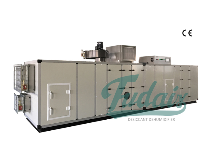 Desiccant Dehumidifier with AHU