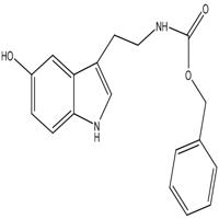 benzyl N-[2-(5-hydroxy-1H-indol-3-yl)ethyl]carbamate ,CAS  : 53157-50-9