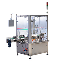 Fully Automatic Rotary Type Plastic Screw Cap Capping Machine