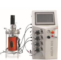 off-site sterilization glass fermenter (all glass body)