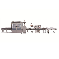 FILLING AND CAPPING LINE OF MEDICINAL SYRUPS IN BOTTLES