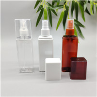 100ml square spray bottle with large cover