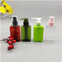 100ml 150ml square lotion bottle spray bottle color can be customized