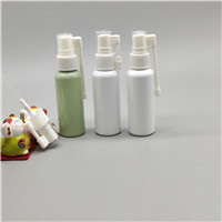 Spray bottle 50ml high quality PET plastic bottle emulsion bottle