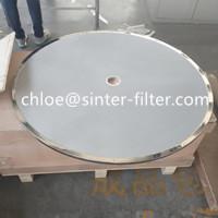 Filter wash dry triplex filter tray