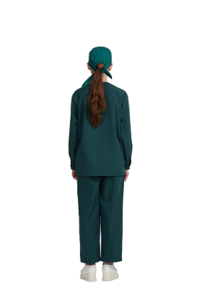 Clean Air Suit(2-pieces short sleeves style (Non-sterile))