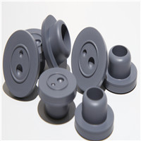 Rubber stopper for injection