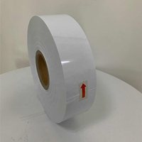 For suppository packing white color PVC/PE film