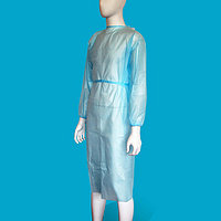 Disposable Isolation Gown IG200 Apron Style Tie on Neck & Waist