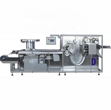 Automatic Roller Plate Tablet Capsule Blister Packing Machine