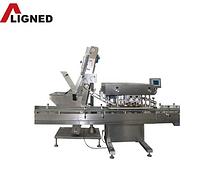 Automatic cap screwing machine