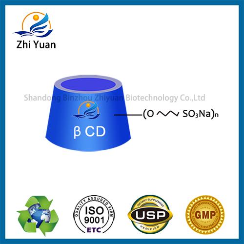 Betadex Sulfobutyl Ether Sodium Injection Grade USP EP