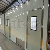 Hepa 14 Filter shed turnkey modular cleanroom for medical industry