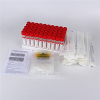 VTM kit viral transport medium with flocked swabs