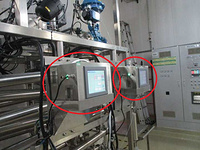 WFI water system TOC  analyzer online monitoring