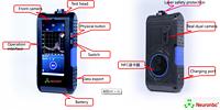 1064nm wavelegth Raman Spectrometers on mobile library in Hands