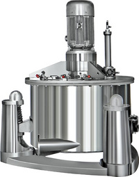 AUT/PAUT series top suspended automatic scraper discharge centrifuge