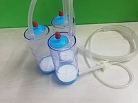 Canister for ampoules liquid