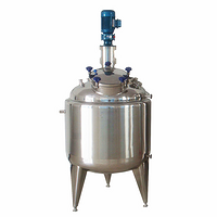 SS316 Blending Tank with Paddle Mixer for Chemical Fertilizer