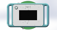 Islator Nitrile Gloves integrity wireless online measurer GT-1200