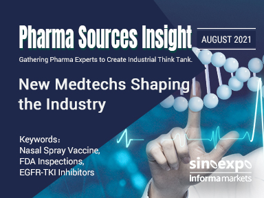 Pharma Sources Insight August 2021: New Medtechs Shaping the Industry