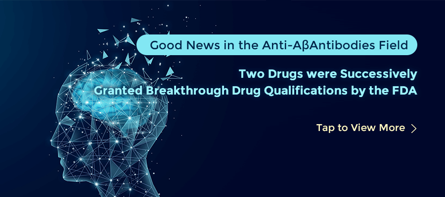 Good News in the Anti-AβAntibodies Field, Two Drugs were Successively Granted Breakthrough Drug Qual
