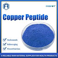 food grade Collagen Blue bulk GHK-CU Copper Peptide powder