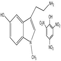 3-(2-aminoethyl)-1-methylindol-5-ol picrate,CAS:1105-64-2