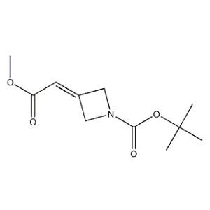 tert-butyl 3-(2-methoxy-2-oxoethylidene)azetidine-1-carboxylate