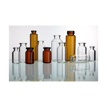 low-borosilicate glass tubulr injection vial