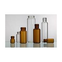 Borosilicate,low-borosilicate,soda-lime glass tubular screwed-neck bottle