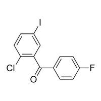 Methanone, (2-chloro-5-iodophenyl)(4-fluorophenyl)-