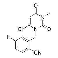 2-((6-chloro-3-methyl-2,4-dioxo-3,4-dihydropyrimidin-1(2H)-yl)methyl)-4-Fluorobenzonitrile