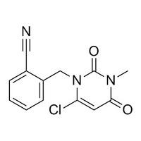 2-[(6-chloro-3-methyl-2,4-dioxopyrimidin-1-yl)methyl]benzonitrile.