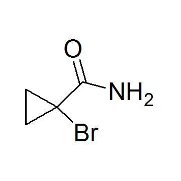 1-Bromocyclopropanecarboxamide