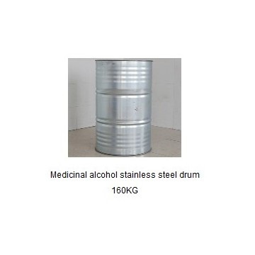 Medicinal alcohol stainless steel drum 160KG