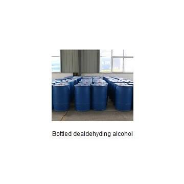 Bottled dealdehyding alcohol